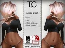 *T.C* Asade Black (wear)