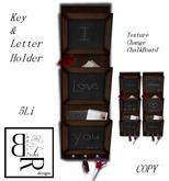 [BR] BlackBoard Letter & Key Holder