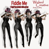 WICKED CREATIVE POSES~FIDDLE ME 4 VIOLIN POSES