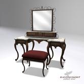 Ravenghost Victorian Dressing Ensemble (Walnut)(V1.1)