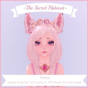 -TSH- Keiko M3 Head Appliers