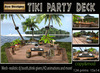 PROMO PRICE!.: Bee Designs:. Tiki Party Deck box