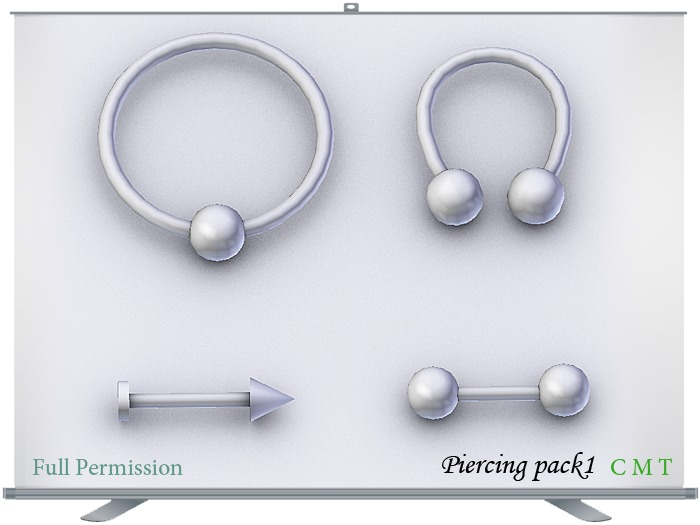 Piercing pack1 Full Permission