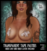 .:A&M:. Transparent Tape Pasties
