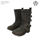 Moto Boots -- Used Black [mesh]