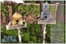 *Funky*Junk* Bird Cottages {Boxed}