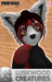Luskwood Red Panda (Wah) Furry Avatar - Fire Red Female