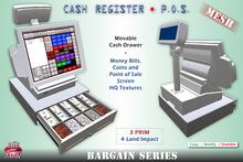Cash Register / POS / Point od Sale * MESH * Movable cash tray * Copy & Modify * - BARGAIN SERIES