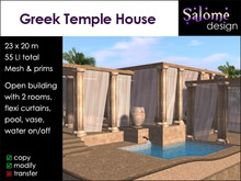 Greek Temple House for small parcels