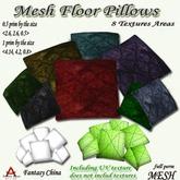 Fantasy China Mesh Floor Pillows 0.5 prim  full perm