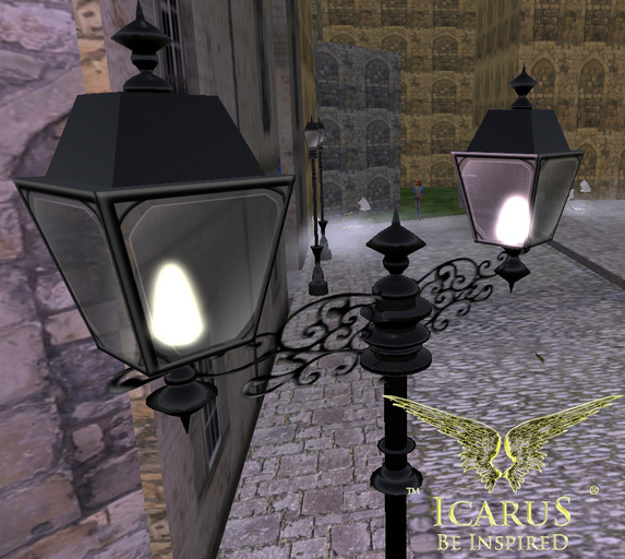 =IcaruS= Paris Street Lamp Double COPY