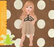 tadpole.~  Wiggle Dressie [Tan] for TODDLEEDOO BABY