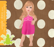 tadpole.~  Wiggle Dressie [Pink] for TODDLEEDOO BABY