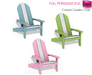 %50SUMMERSALE Full Perm Meli Imako Mesh Colorful Garden Chair with 5 Sitting Animations