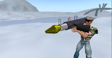 Rocket Launcher 3000. (With HUD!)