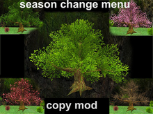 Wide Tree - Season Change - Mesh - Copy Mod