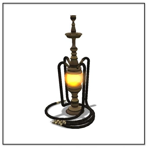 Steampunk Aether Hookah - Belle Belle Furniture