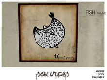 """""""FISH 2"""" Art Painting by """"Sources""""  PG - MESH - BOX - Copy and Modify"""