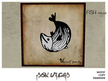 """""""FISH 3"""" Art Painting by """"Sources""""  PG - MESH - BOX - Copy and Modify"""