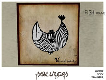 """""""FISH 5"""" Art Painting by """"Sources""""  PG - MESH - BOX - Copy and Modify"""