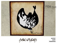 """""""FISH 6"""" Art Painting by """"Sources""""  PG - MESH - BOX - Copy and Modify"""