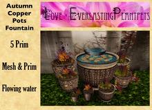 LEP ~ Copper Pots Fountain *Autumn*