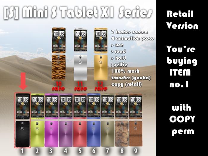 [satus inc] Mini S Tablet X1 - Black [Retail Version]