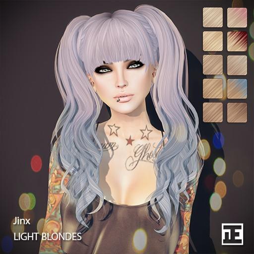 TRUTH HAIR Jinx (Mesh Hair) - light blondes