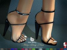 Bens Boutique - Miley Satraps Heels All colors (SlinkHighFeet)