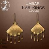 -=UZURI=- Jabari Ear Rings (gold)