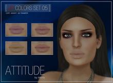 ATTITUDE LIP COLORS SET 05