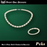 Night Owl Designs - Men's Puka Shell Set