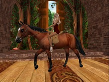 Dragonsfyre MESH Horse ( Saddled ) w Color Changer