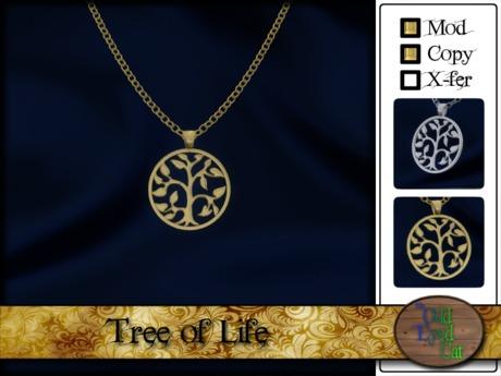 >^OeC^ Tree of Life Pendants