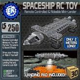 ER Spaceship RC Toy