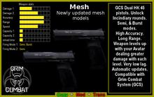 GCS Dual HK45 Pistols