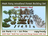 Mesh Fairy Woodland Forest Building Set With Seasons Hud 28Part
