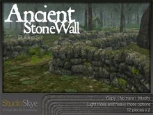 :NEW: Ancient Stone Wall Building Set - 100% MESH