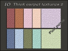 Pack 10 thick carpet textures 2