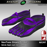 AB SLINK Neo Toes Shoes Purple