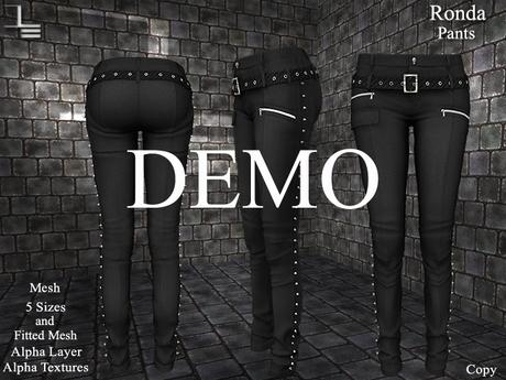 DE Designs - Ronda - Pants - DEMO