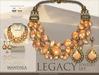 [MANDALA]LEGACY Jewelry set_Sand