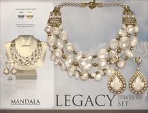 [MANDALA]LEGACY Jewelry set_Kilimanjaro