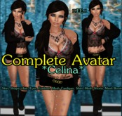 ::.EE.:: Complete Avatar *Celina* (Incl. Mesh Outfit&Boots)