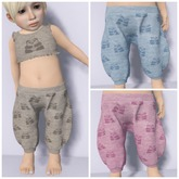 KiddyWinks - Bebe'Boho Panda Outfit Set