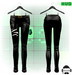 F.A.D. // Pinned Leather Pants // Black - FitMesh/Materials