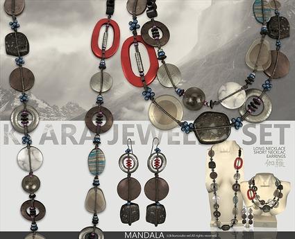 [MANDALA]KYARA_Jewelry set_Volcano