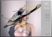 Miamai_Stratus hat - luxe - cream canvas
