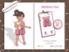 Pink Sprinkles - Monkey Tee *Pink*