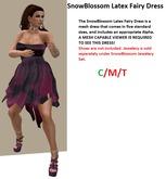 SnowBlossom Latex Fairy Dress [boxed]